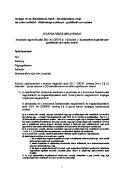 1/a. számú melléklet – Átláthatósági nyilatkozat – gazdálkodó szervezetekre
