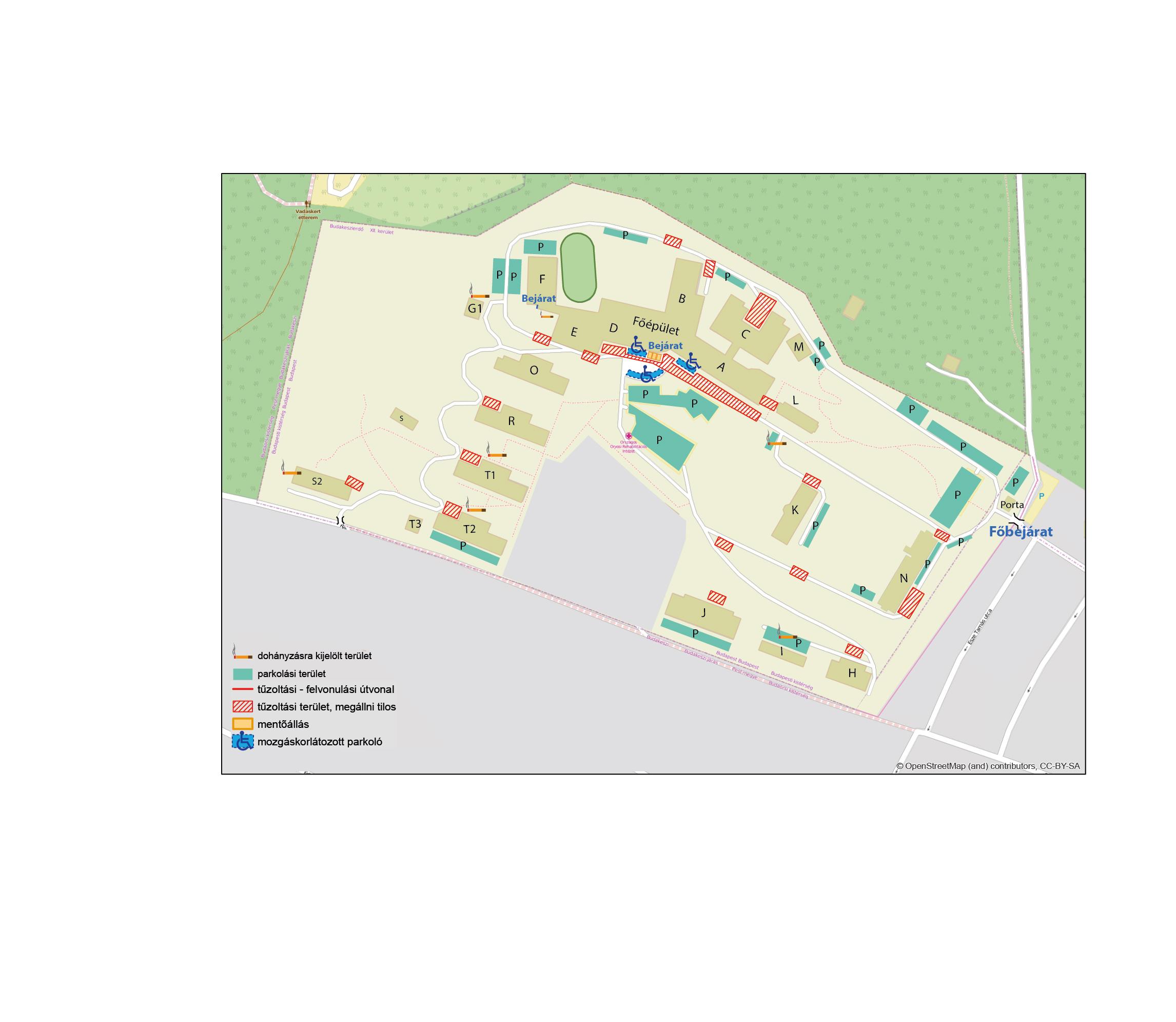 uzsoki utcai kórház térkép Országos Orvosi Rehabilitációs Intézet uzsoki utcai kórház térkép